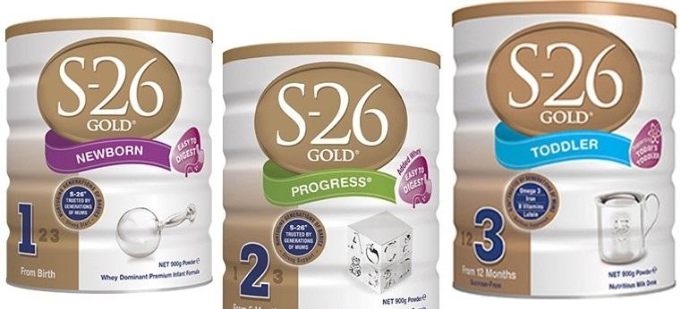Sữa bột S - 26