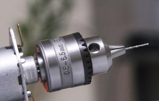 Máy khoan mini cầm tay 12V-2A kẹp mũi Từ 0.6-6mm