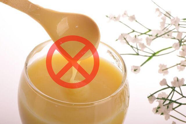 dừng việc sử dụng sữa ong chúa này lại ngay