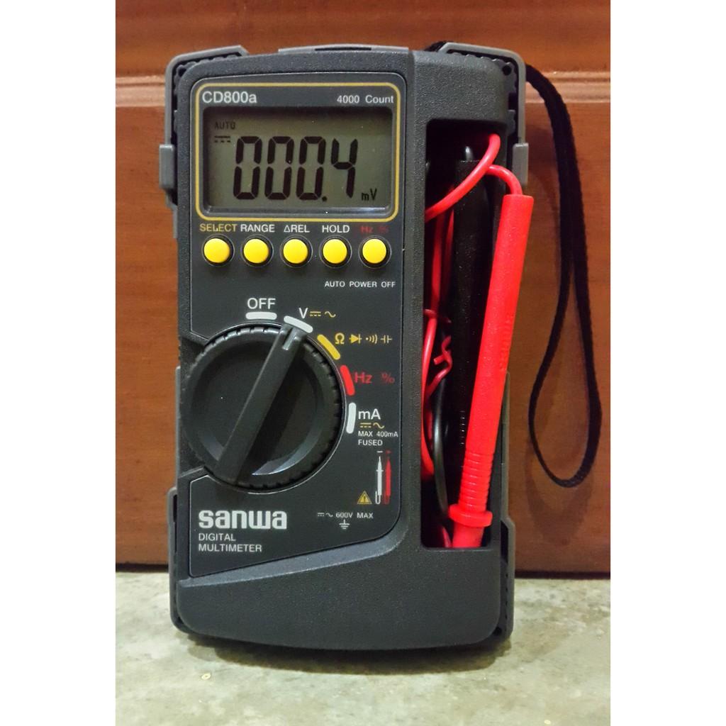 Đồng hồ vạn năng Sanwa CD800a đo AC/DC