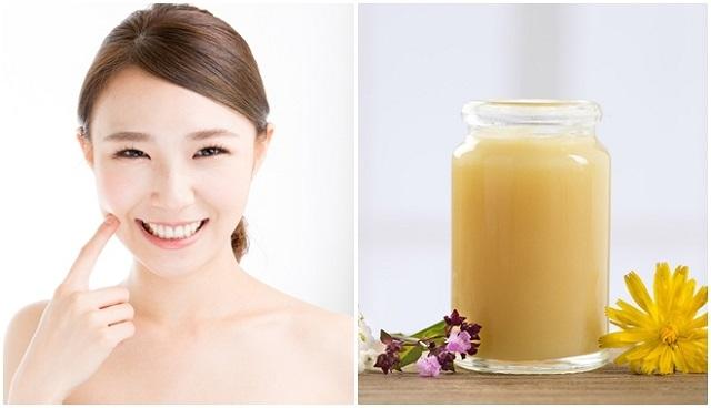 sữa ong chúa có tác dụng cải thiện làn da