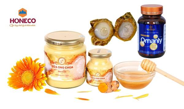 Sữa ong chúa Honeco là một sản phẩm của công ty Ong Tam Đảo