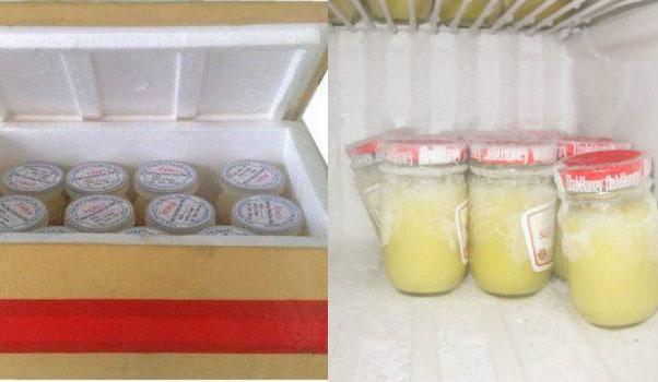Sữa ong chúa nên được bảo quản lạnh