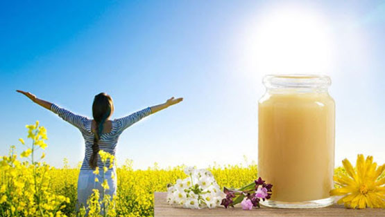 Sữa ong chúa rất tốt cho người bị huyết áp cao