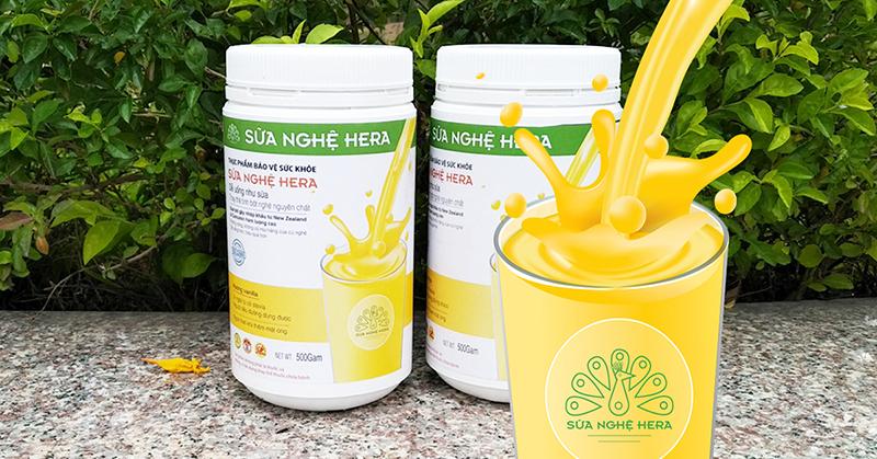 Hera là một trong những thương hiệu sữa nghệ được phản hồi tốt