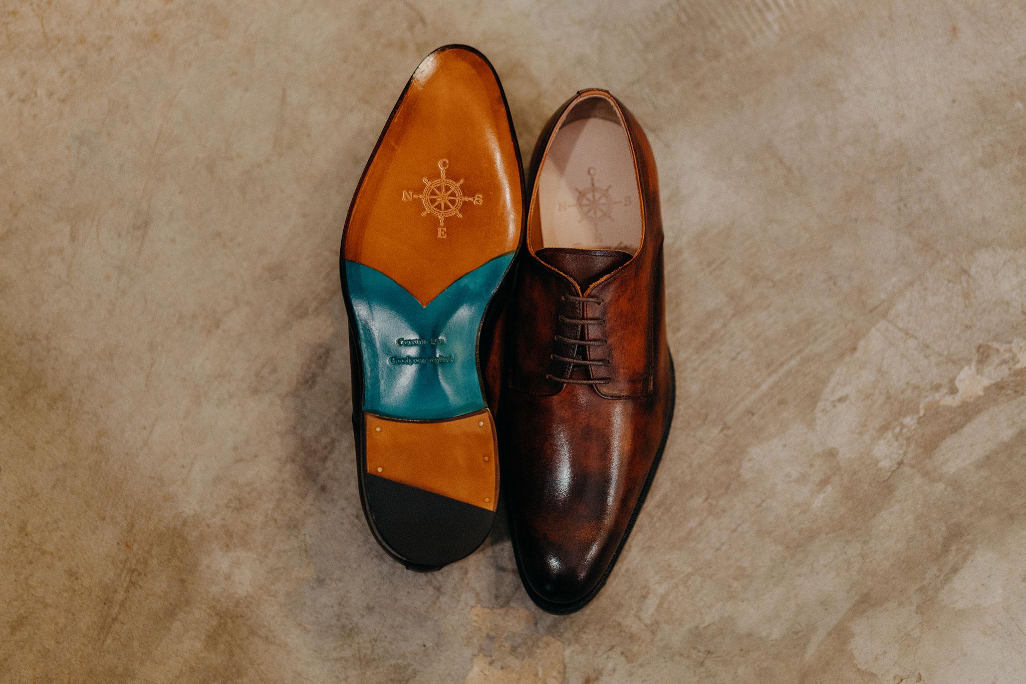 Giày da bò nam dalot 1