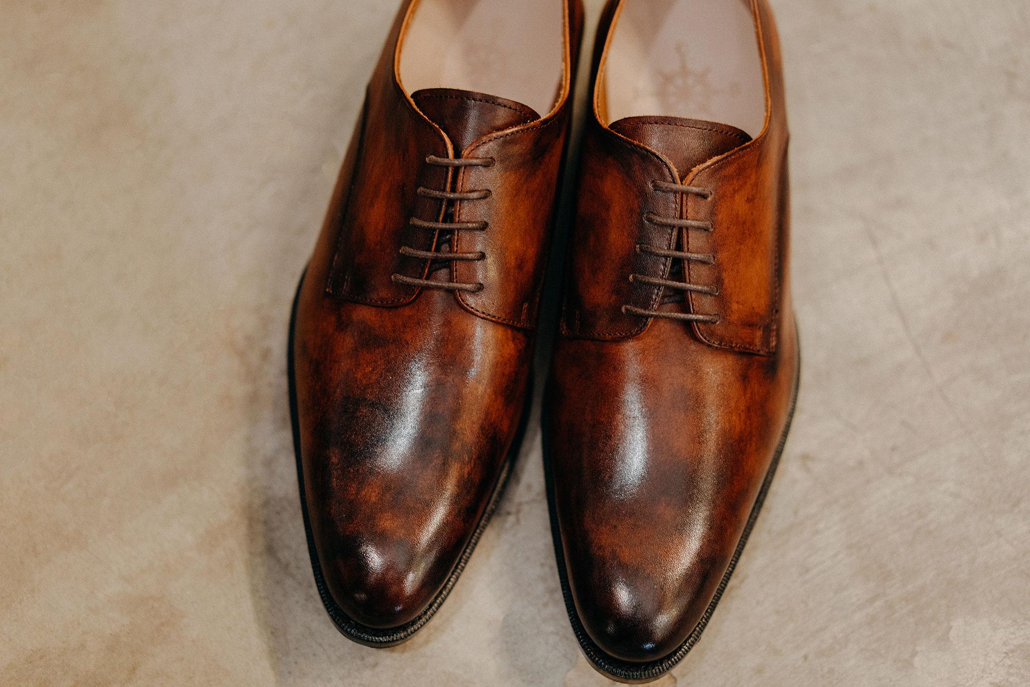 Giày da bò Nam dalot