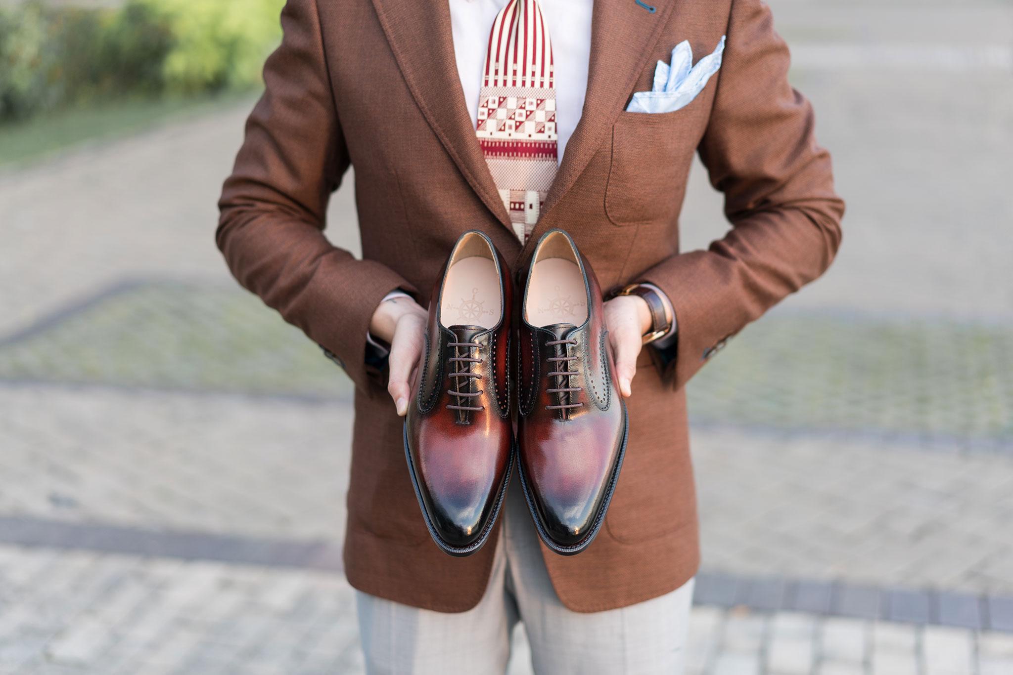 mẫu giày tây nam paire