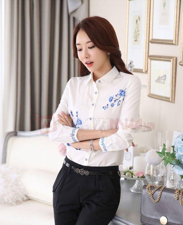 Sơ mi nữ mang phong cách Hàn Quốc luôn được đánh giá rất cao và được người dùng ưa chuộng
