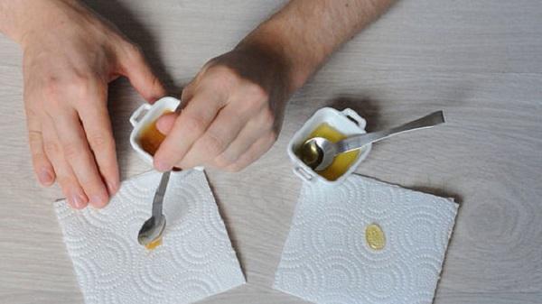 cách thử mật ong nguyên chất