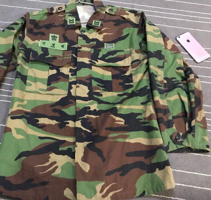 Cửa hàng có đầy đủ các đồ lính từ quần áo giữ ấm đến quần áo nhanh khô