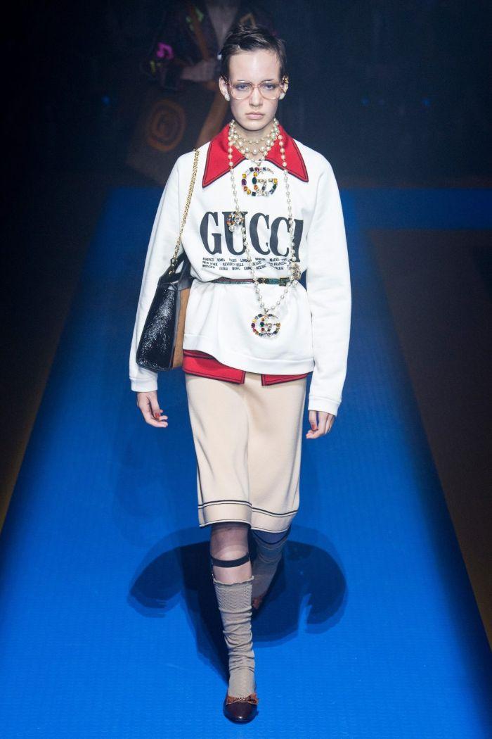 Gucci là thương hiệu thời trang nổi tiếng có triết lý thiết kế hiện đại và đổi mới