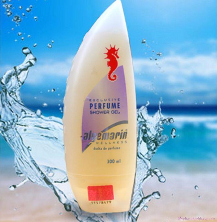 Sữa tắm cá ngựa Algemarin nhập khẩu Đức chính hãng bởi công ty CP công nghiệp Trần Nguyễn