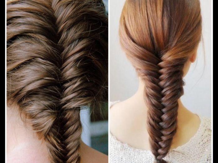 Một trong 8 kiểu tóc nữ đẹp được nhiều người lựa chọn năm 2020 được nhiều người lựa chọn đó là tóc tết đuôi cá lệch