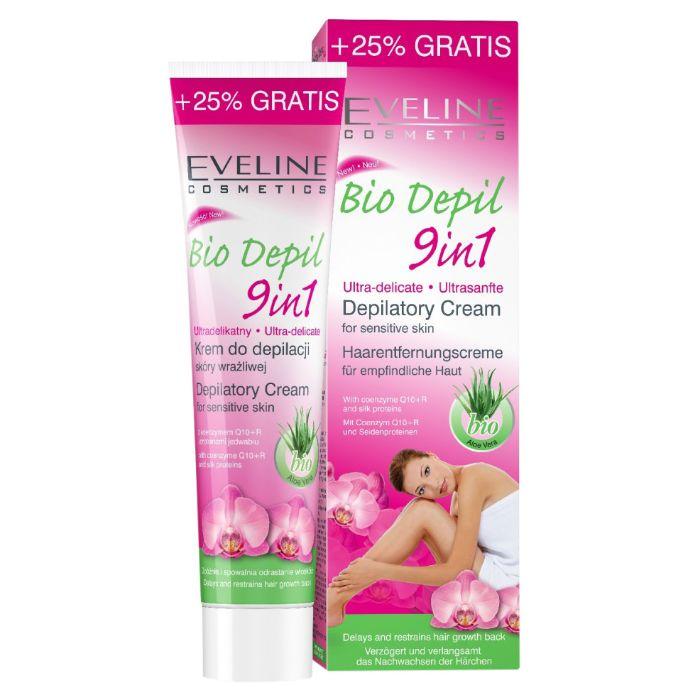 Một cái tên được nhắc đến trong danh sách top 8 loại gel wax lông tốt bán chạy nhất đó là Eveline Bio Depil