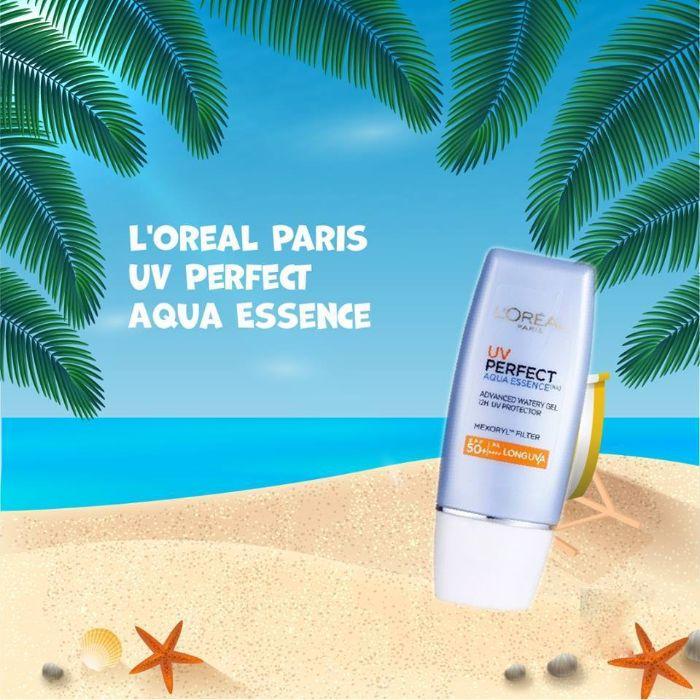 Kem Chống Nắng L'Oreal Paris UV Perfect Aqua Essence SPF50+ PA++++ 30ml