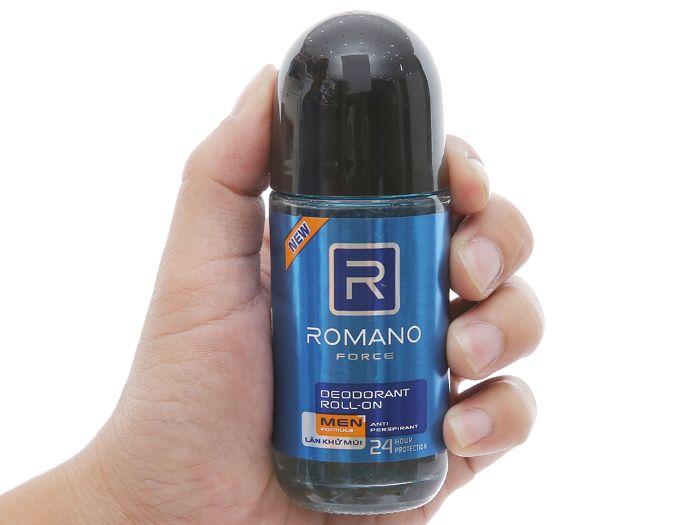 Lăn khử mùi Romano là sản phẩm dành riêng cho nam giới thuộc tập đoàn liên quốc gia Wipro Unza