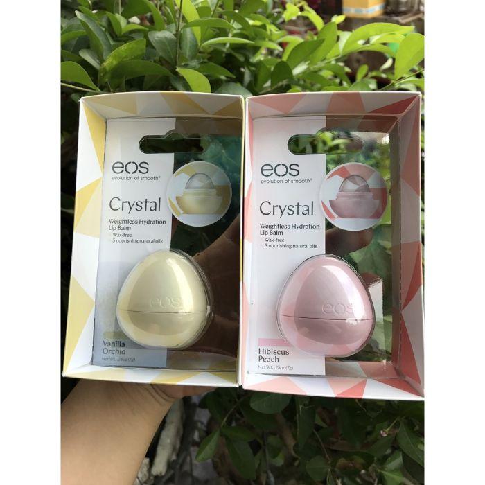 Son dưỡng môi EOS nổi bật với thiết kế hình quả trứng độc đáo