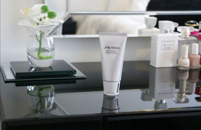 Mặt nạ tẩy tế bào chết dạng gel Shiseido Purifying Mask 75ml mang lại làn da tươi sáng