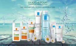 La Roche Posay rất nổi tiếng với các sản phẩm chăm sóc da