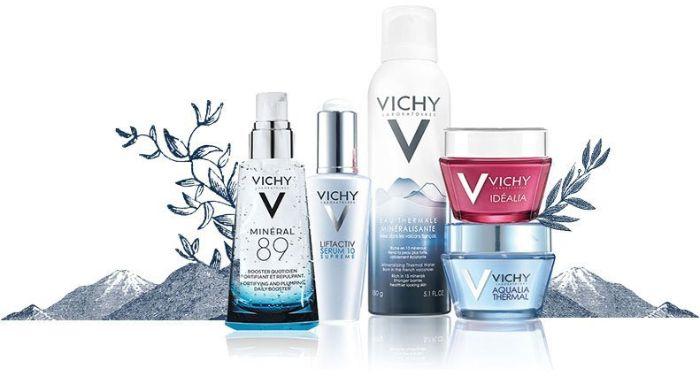 Các sản phẩm của Vichy được đánh giá cao vì an toàn cho da nhạy cảm