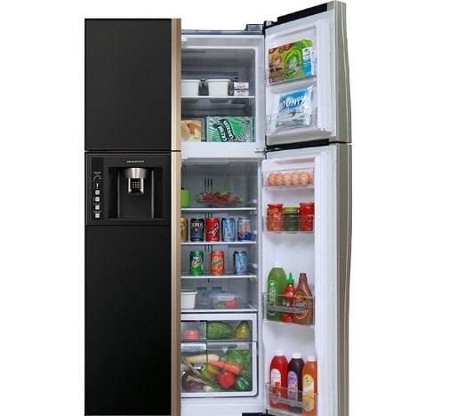 Tủ lạnh side by side Hitachi R-W660PGV3 540L (Đen)