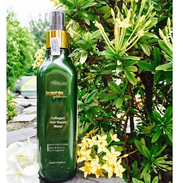 Xịt dưỡng tóc Collagen Sophia Platinum