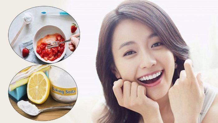 Baking soda có khả năng loại bỏ mảng bám và giúp cho răng trắng sáng hơn
