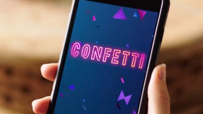 Confetti nghĩa là gì?