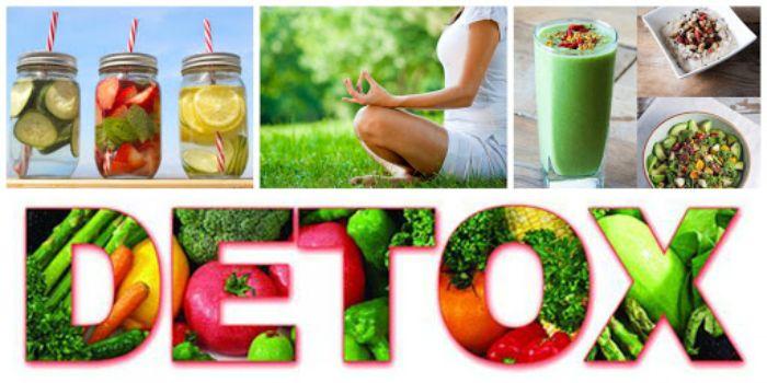 Detox là phương pháp thanh lọc cơ thể được sử dụng từ các loại nước ép trái cây hay rau củ