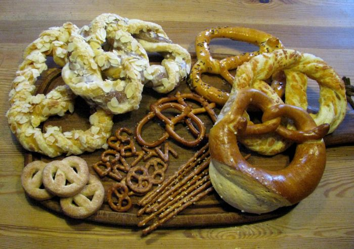Các loại Pretzel phổ biến