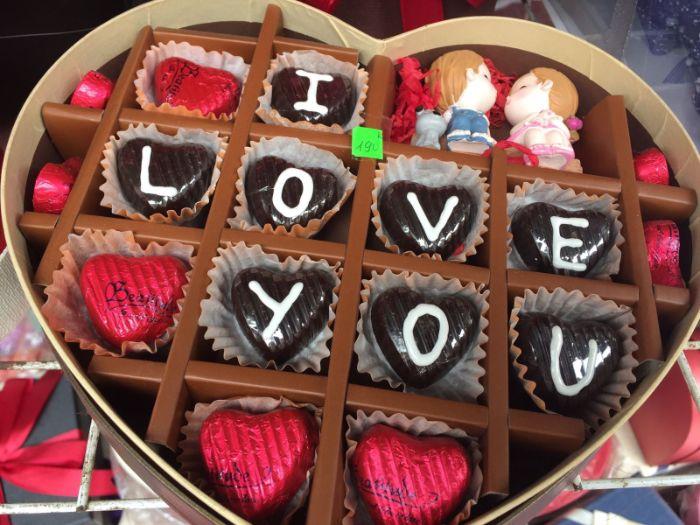Socola là món quà tặng người yêu phổ biến nhất