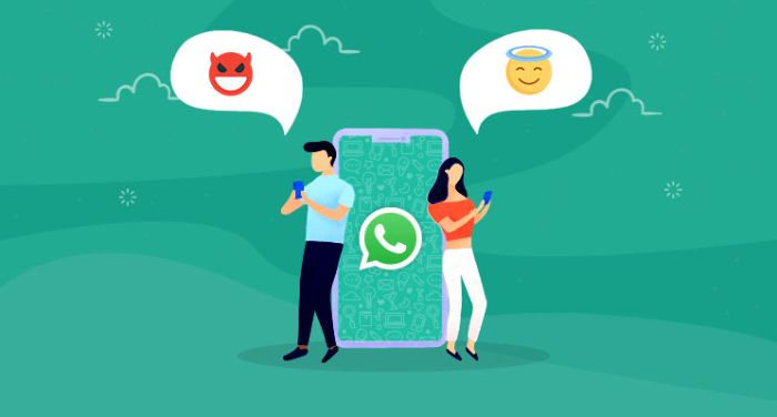 WhatsApp giúp người dùng thoải mái trò chuyện với nhiều đối tượng khác nhau trong một ứng dụng