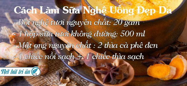cach-lam-sua-nghe-uong-dep-da
