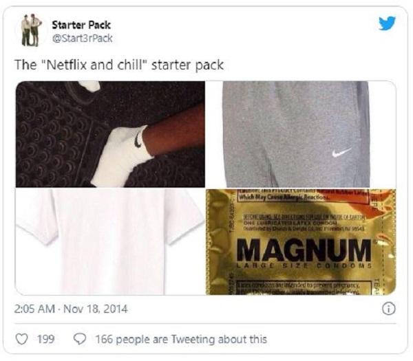 Netflix and chill là gì