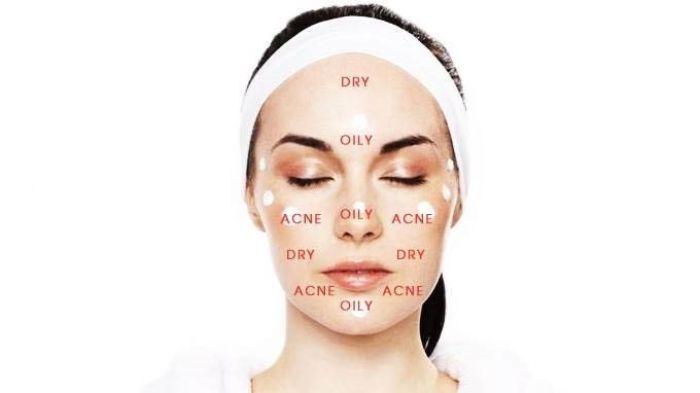 Da hỗn hợp là loại da sở hữu đặc điểm của da dầu và da khô