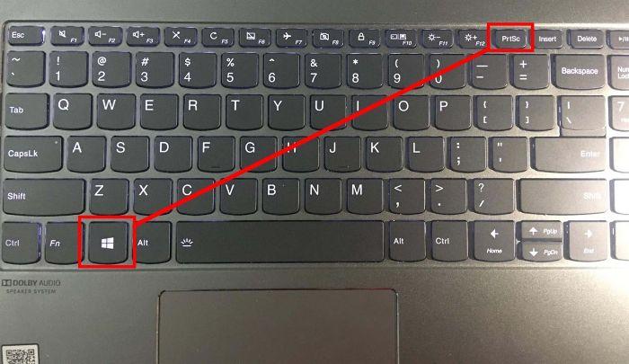 Chụp màn hình máy tính bằng tổ hợp phím windows và Prtsc