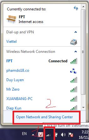 Hướng dẫn thiết lập địa chỉ IP tĩnh và IP động cho máy tính