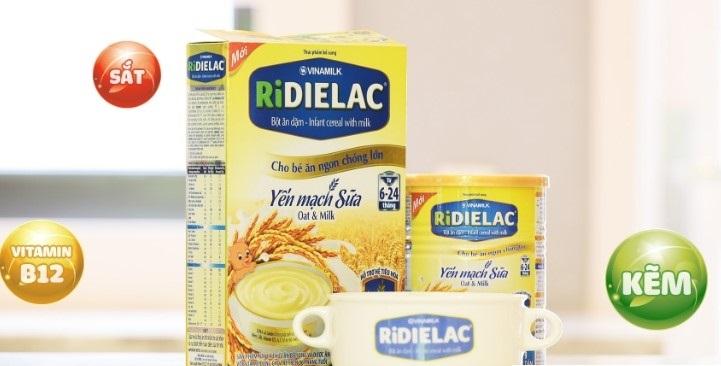 Bột mặn ăn dặm Ridielac có tốt không?