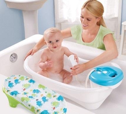 Một số loại chậu tắm cho bé sơ sinh