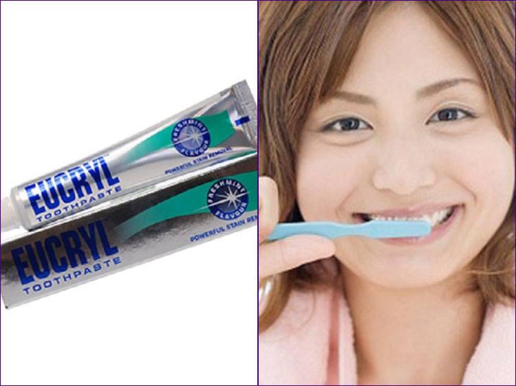 Kem Đánh Răng Eucryl Tốt Răng Miệng