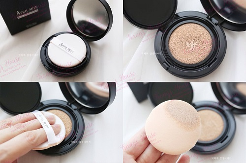 Phấn Nước April Skin Magic Cushion (Màu Đen)