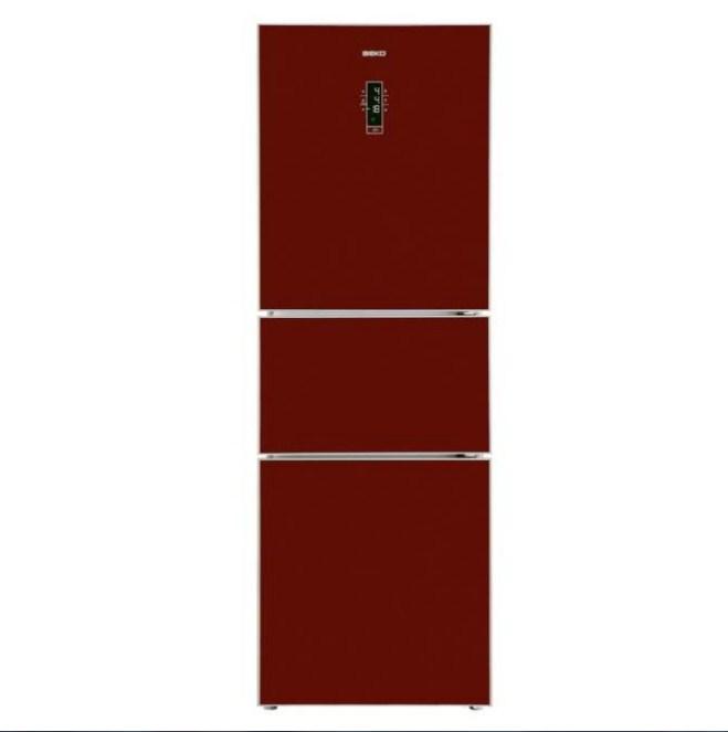 Tủ lạnh 3 cửa Beko CFF6873GR 345L (Đỏ)