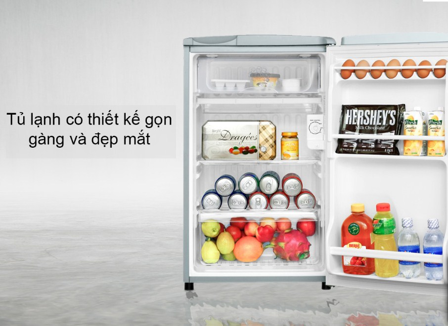 Review Tủ lạnh Aqua 90 lít AQR-95AR