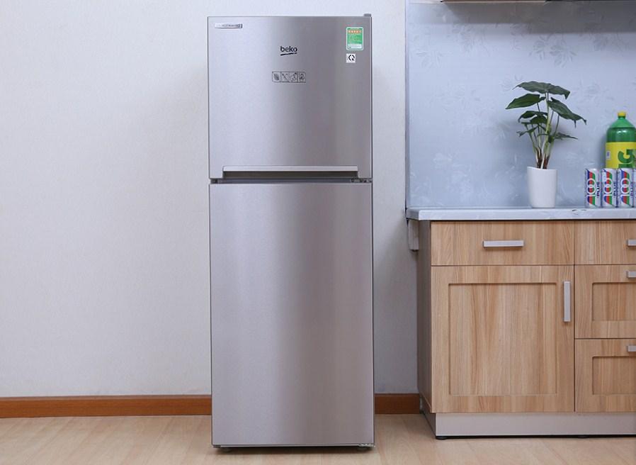 Tủ lạnh Beko 230 lít RDNT230I50VZX - (Bạc)