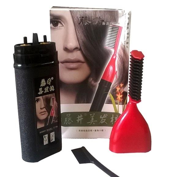 Thuốc nhuộm của lược nhuộm tóc thông minh tốt được làm bằng các nguyên liệu thiên nhiên