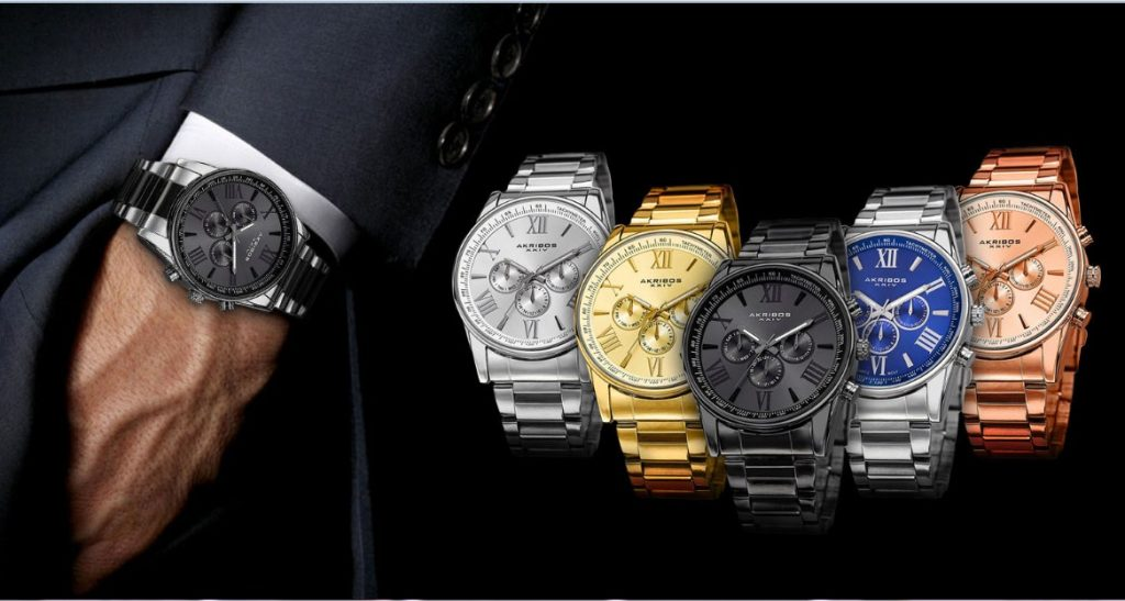 Đồng hồ Akribos có chất lượng đảm bảo, bền bỉ