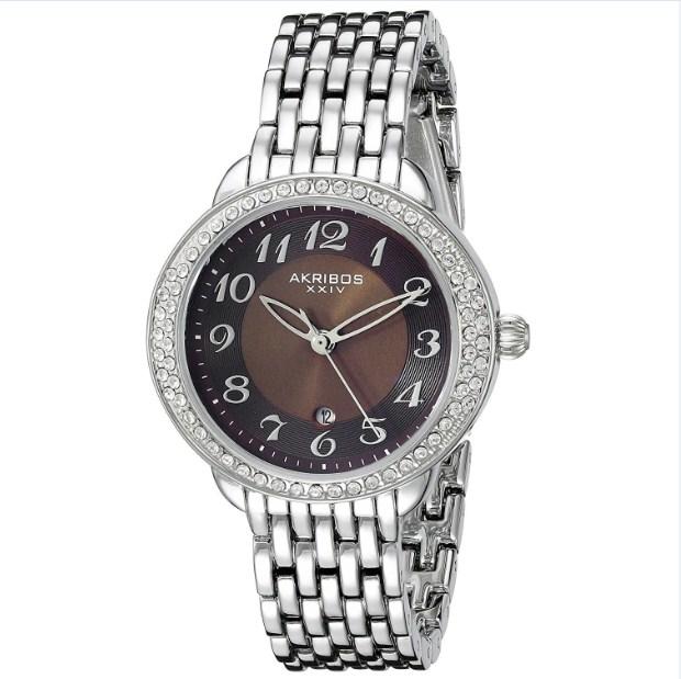 Đồng hồ nữ Akribos XXIV Quartz Movement AK831SSBR được nhiều người ưa chuộng.