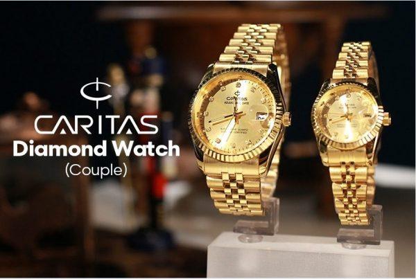 Đồng hồ Caritas luôn đem đến sự sang trọng, đẳng cấp cho bất cứ ai đeo nó.
