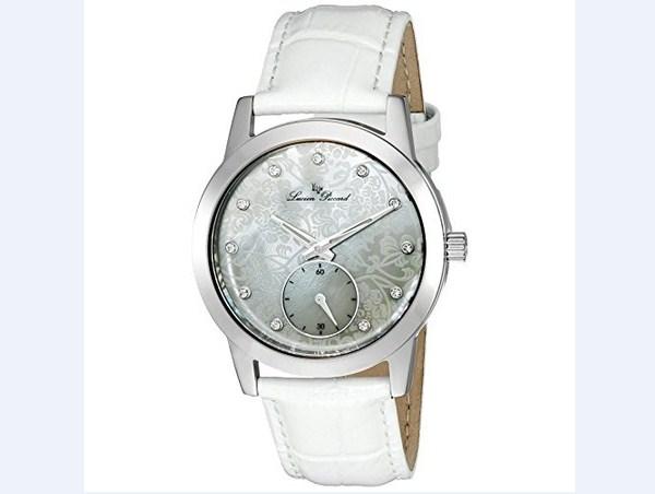 Đồng hồ nữ Lucien Piccard LP-12384-YG-01MOP Alca Black Mother-Of-Pearl Dial